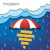 Rainy season abstract background vector Royalty Free Stock Image