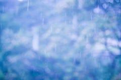 Rainy season background with vintage color tone Royalty Free Stock Image