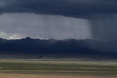 Rainy Season in Mongolia Royalty Free Stock Photos