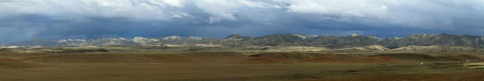 Rainy Season in Mongolia Stock Images