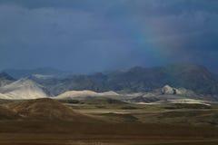 Rainy Season in Mongolia Stock Photography