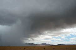 Rainy Season. Namibia Royalty Free Stock Image