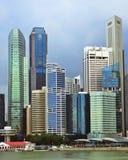 Rainy Singapore Royalty Free Stock Photography