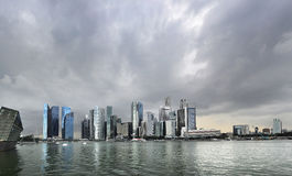 Rainy Singapore Stock Image