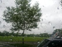 Rainy situation royalty free stock photos
