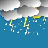 Rainy sky Royalty Free Stock Photos