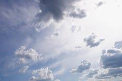 Rainy sky Stock Image