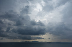 Rainy sky Royalty Free Stock Photography