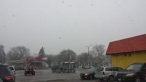 Rainy Sky. A Milwaukee view for a rainy day Royalty Free Stock Photos
