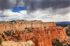 Rainy Storm Hoodoos Bryce Point Bryce Canyon National Park Utah Stock Image