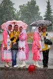 Rainy summer day Royalty Free Stock Image