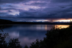 Rainy sunrise Royalty Free Stock Photography