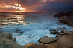 Rainy Sunset Royalty Free Stock Image