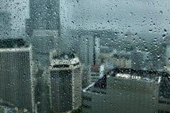 Rainy tokyo Royalty Free Stock Photography