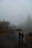 Rainy walk Stock Image