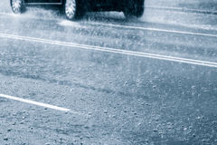Rainy weather Royalty Free Stock Photography