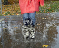 Rainy weather Royalty Free Stock Photo