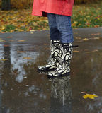 Rainy weather Royalty Free Stock Photography