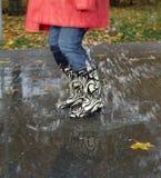 Rainy weather Stock Image