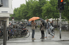 RAINy WEATHER DAY BEFORE NOON Royalty Free Stock Image