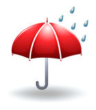 A rainy weather Royalty Free Stock Images