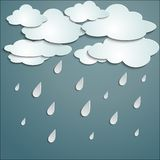 Rainy weather Royalty Free Stock Images