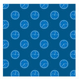 Rainy window glass, drops of rain, water. On glass in blue color royalty free illustration