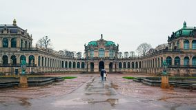 Free Rainy Winter Day In Dresden Stock Image - 126876841