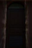 raio claro através da porta, porta, entrada Foto de Stock Royalty Free