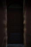 raio claro através da porta, porta, entrada Imagens de Stock