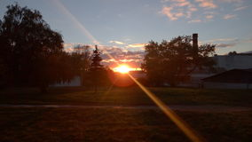 Raio de sol no foco Foto de Stock