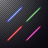 Raio laser colorido Fotografia de Stock