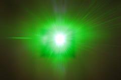 Raio laser POV Imagem de Stock Royalty Free
