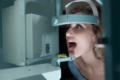 Raio X dental Fotografia de Stock Royalty Free