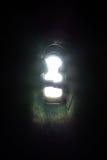 Raios claros brilhantes que brilham a oportunidade da fechadura da porta do buraco da fechadura Fotografia de Stock Royalty Free