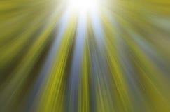 Raios claros verdes e azuis Imagem de Stock Royalty Free