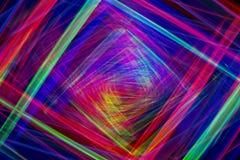 Raios coloridos bonitos do fundo claro abstrato Fotografia de Stock