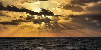 Raios de sol Fotografia de Stock Royalty Free