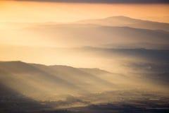 Raios de sol Foto de Stock Royalty Free