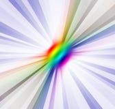 Raios espectrais Fotos de Stock