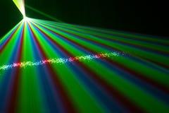 Raios laser da cor Fotografia de Stock Royalty Free