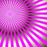 Raios radiais abstratos da cor cor-de-rosa brilhante Vetor foto de stock