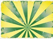 Raios Sunburst do starburst da ilustração clara foto de stock royalty free