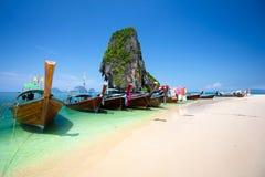 Rairay beach Royalty Free Stock Images