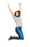 Raise your arms up Royalty Free Stock Photography