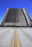 Raised bridge. Royalty Free Stock Photos