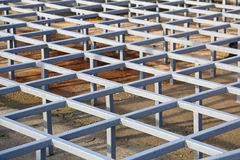 Raised Floor Structure Royalty Free Stock Photo