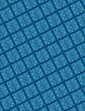 Raised geometric tile pattern. 3-d tiles on a flat background stock illustration