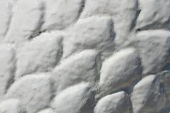 Raised white pattern Stock Images