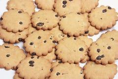 Raisin Biscuits Stock Photo